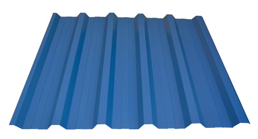 dachbleche und lichtplatten dachplatten stahlblech trapez inkl abtropfschutz ideal f r. Black Bedroom Furniture Sets. Home Design Ideas