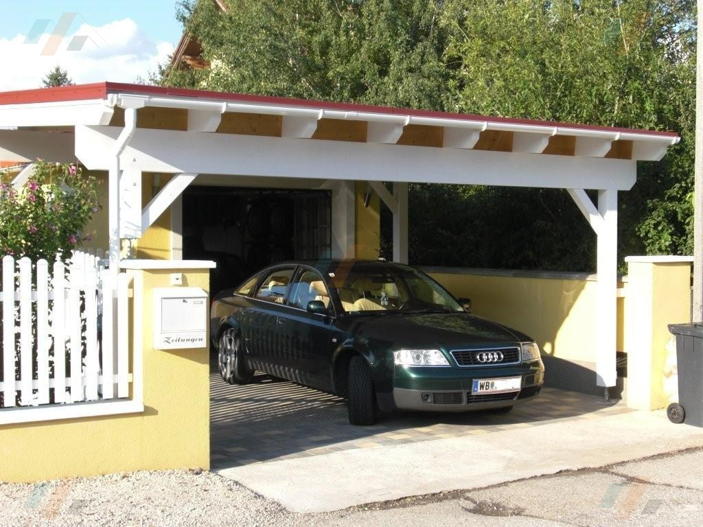 Blechplatten ideal f r dach carport hpm shop for Carport shop