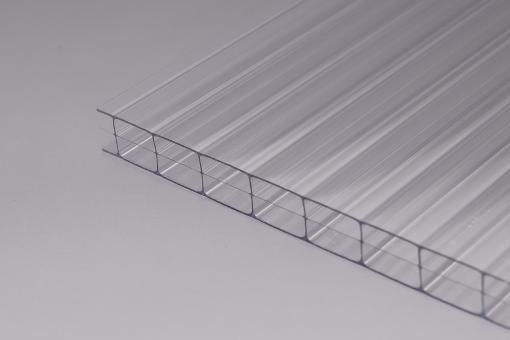 Stegplatten 16mm Polycarbonat klar