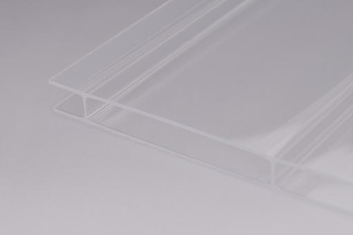 Stegplatten Acrylglas 16mm klar 16/96 Breitkammer