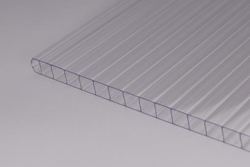 Stegplatten Polycarbonat 6mm klar