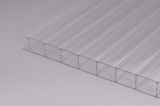 """Stegplatten 16mm Polycarbonat klar """"Innenstruktur"""""""