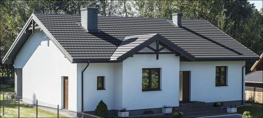 Glattziegel-Dachpaneele IRYD PREMIUM TOP-BESCHICHTUNG