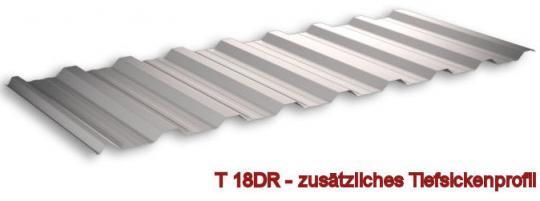 Trapezblech Alu-Zink Profil 18DR/0.5-Sonderpreis