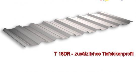 Trapezblech SoPosten-Sonderpreis 2 Farben Profil 18DR/0.4