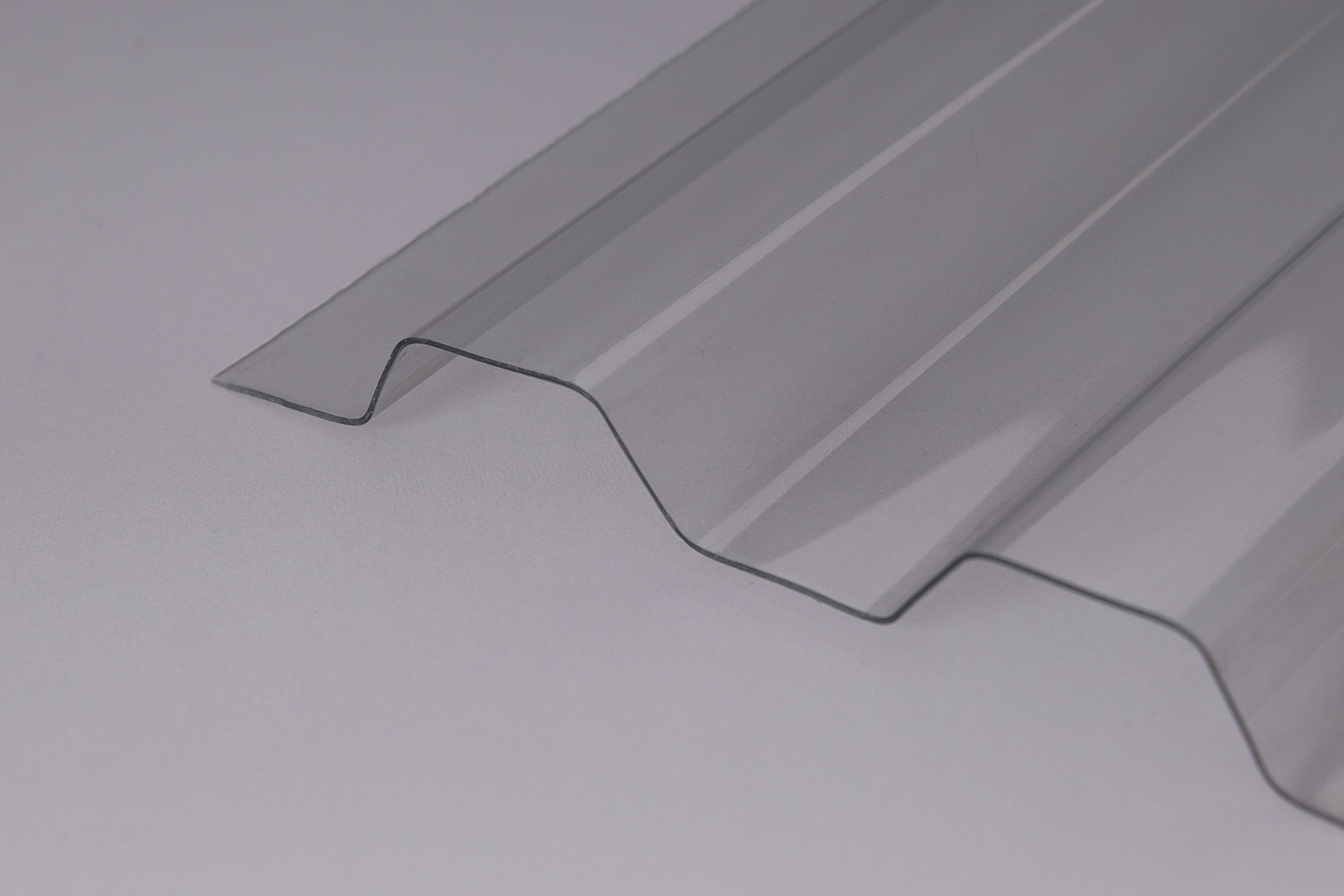 Extrem hagelresistente Lichtplatten extrem belastbar Typ ONDEX PVC für BT14
