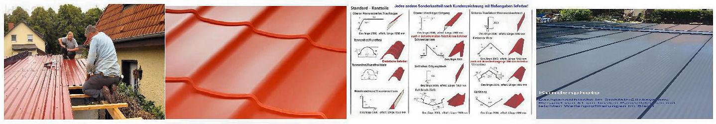 Stahlblechplatten und Zubehör